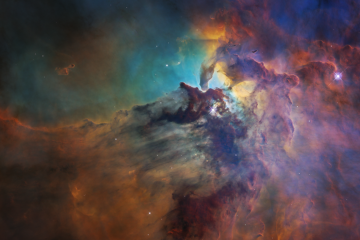 Colorful image of stardust