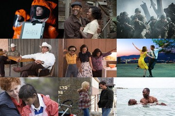 A compilation of stills from the 9 Oscar nominees for Best Picture