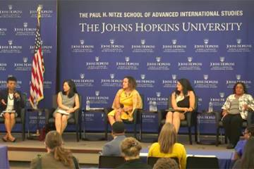 JHU Forums on Race in America panel