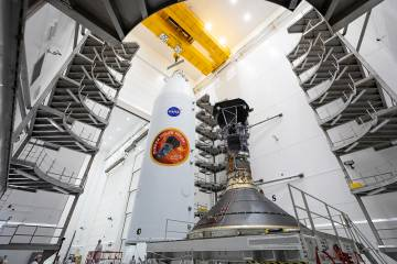 A spacecraft and fairing