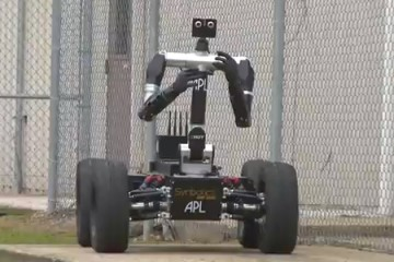 Robo Sally in action