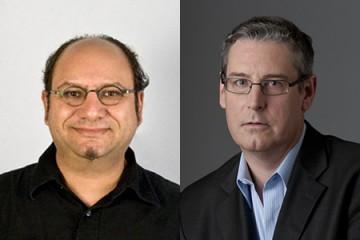 Alan Rosenblatt (left) and Jack Speer