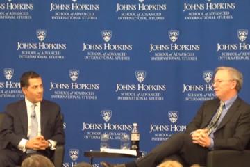 Eric Schmidt speaks at Johns Hopkins
