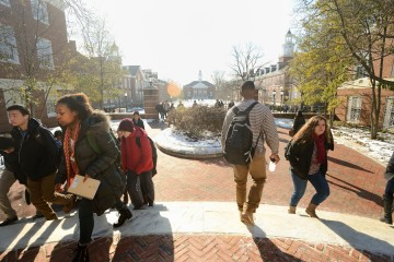 classes resume as second semester commences at johns
