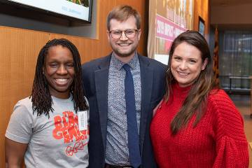 Nneka N'namdi, Alex Riehm, and Danna Thomas