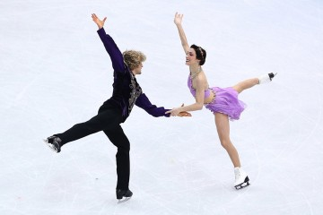 U.S Olympic team skaters
