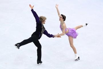 U.S Olympic team skaters