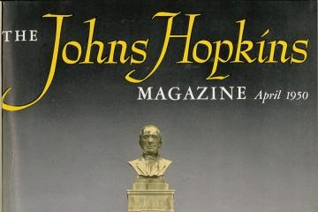 Cover image from the original Johns Hopkins Magazine