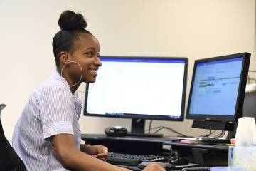 Summer Jobs intern Lyric Boyd