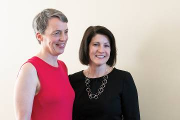 Sarah Szanton and Cheryl Himmelfarb