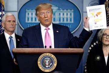 President Trump coronavirus news conference