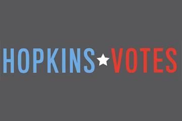 Hopkins Votes logo