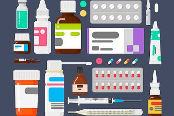 Drawing of prescription medicines