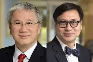 Ko Wang (left) and Phillip Phan