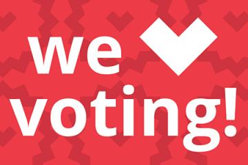 we love voting