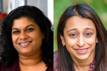 Ashani Weeraratna and Nilofer Azad