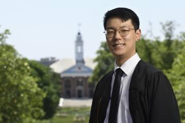 Senior Class President William Cho