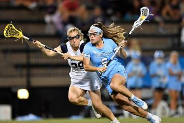 Women's lacrosse player Maggie Schneidereith