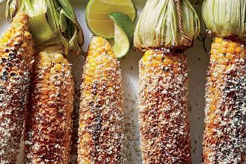 Mexican street corn made from a WW recipe