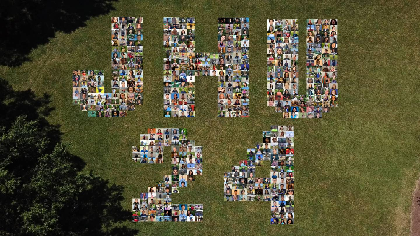 The Class of 2024 takes its official class portrait virtually