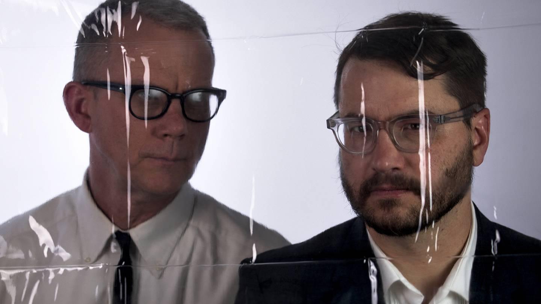 Matmos duo Martin Schmidt (left) and Drew Daniel