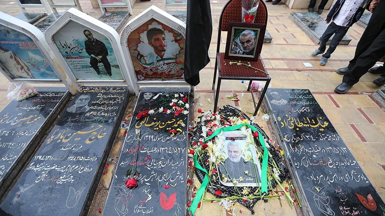 Qassim Suleimani's grave