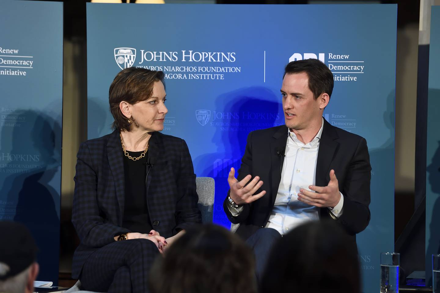 Anne Applebaum and Graham Brookie