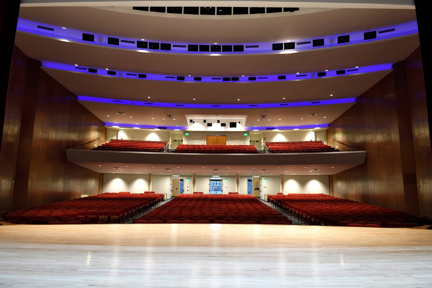 Interior of Shriver Hall