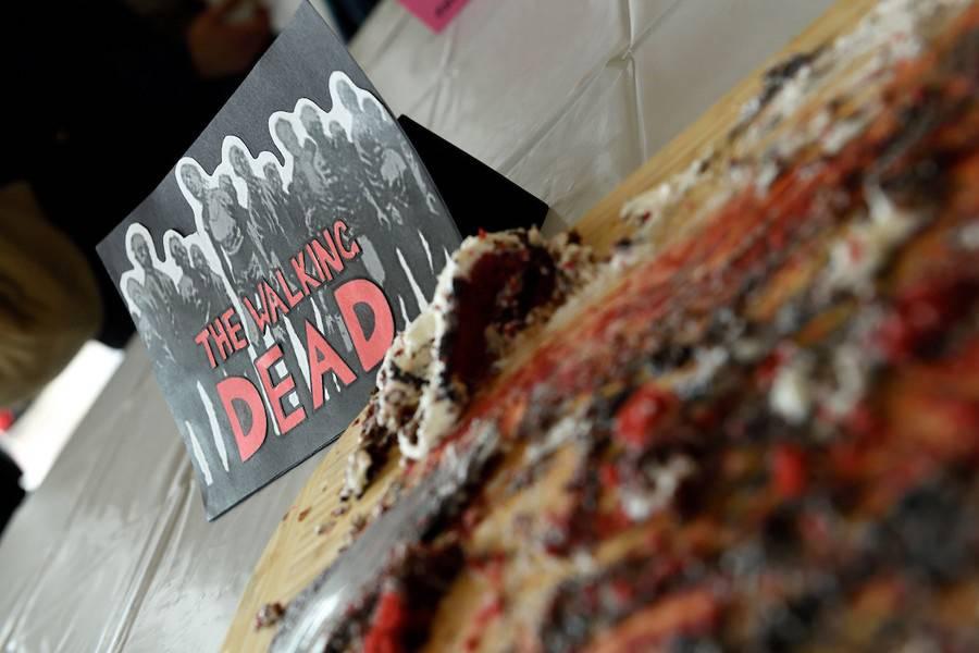 Cake remains