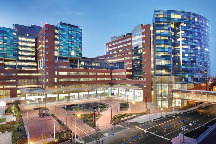 Johns Hopkins Hospital ranked No  3 nationally by 'U S  News