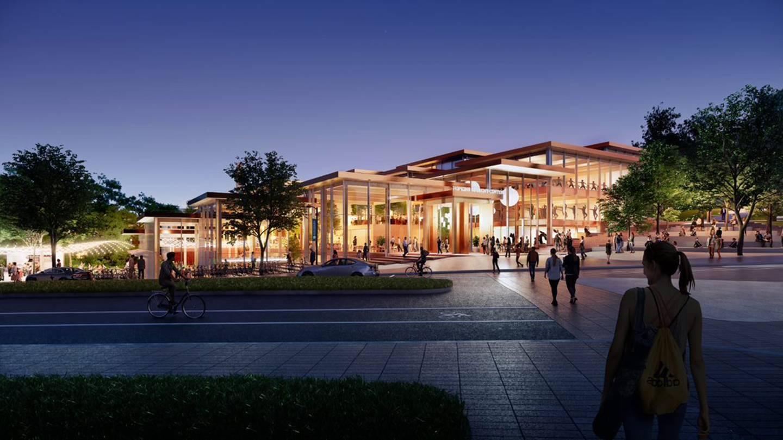 Hopkins Student Center concept rendering