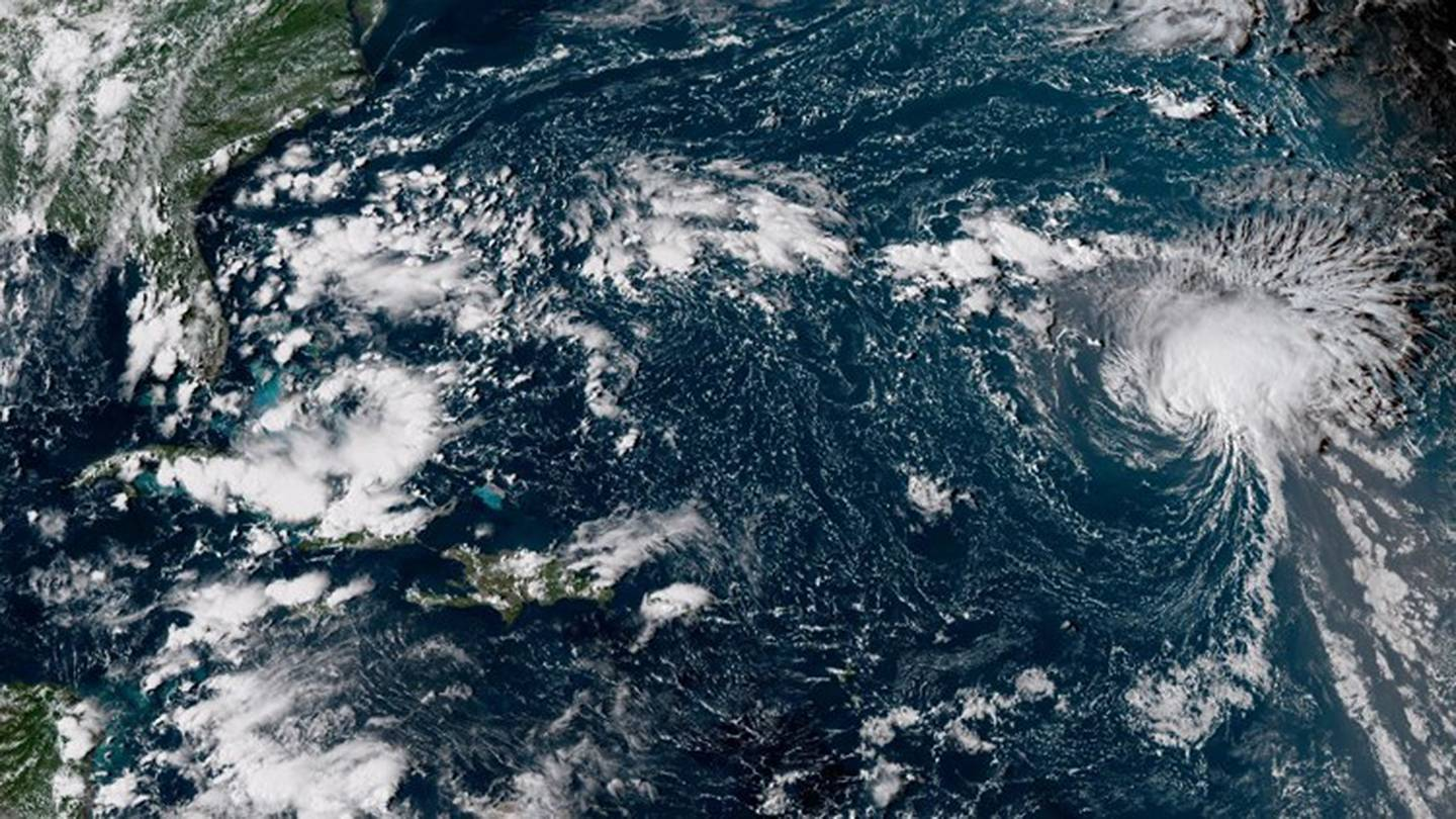 Hurricane Florence off the coast of Florida