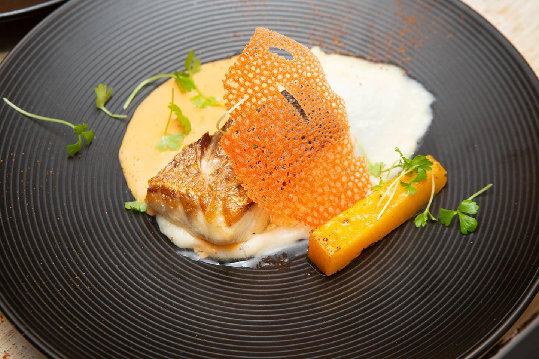 Rockfish dish