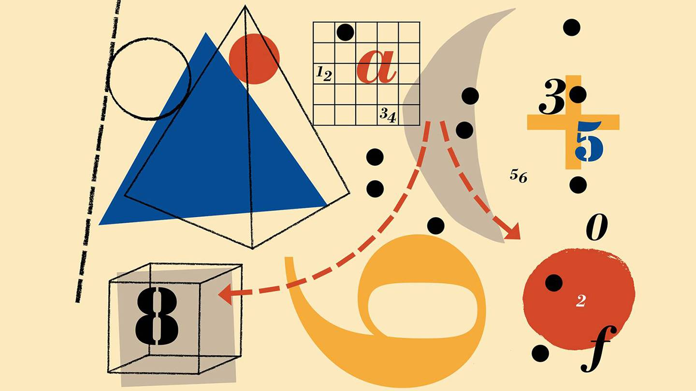 Illustration of mathematical figures