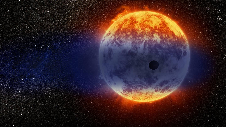 Fund af Neptun-størrelse exoplanet der er ved at forsvinde