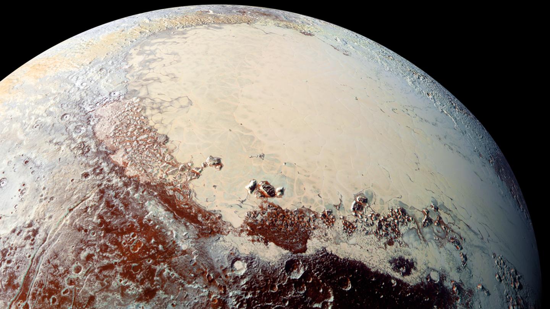 High-resolution view of Pluto's Sputnik Planitia