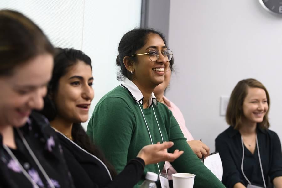 Women attend Rising Stars workshop