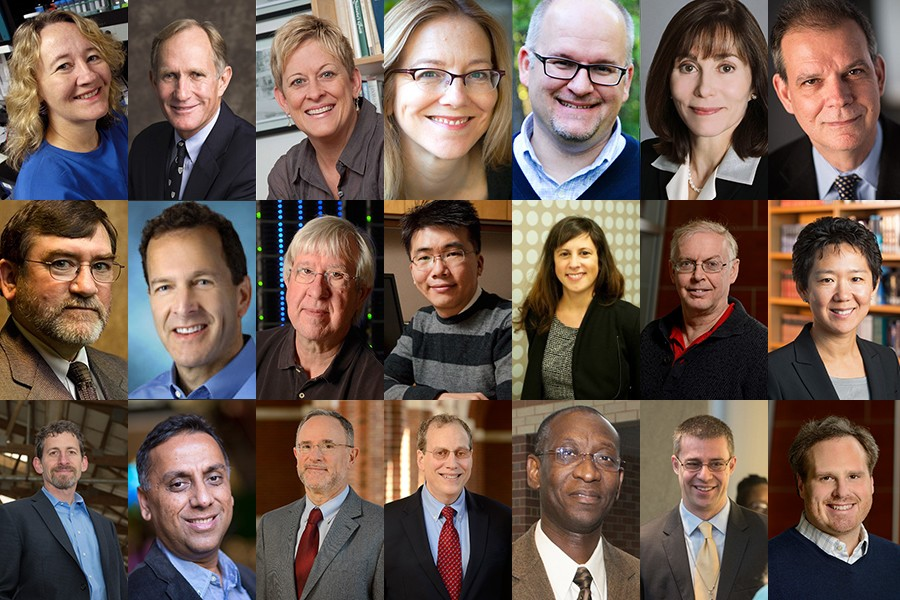 The 21 Bloomberg Distinguished Professors