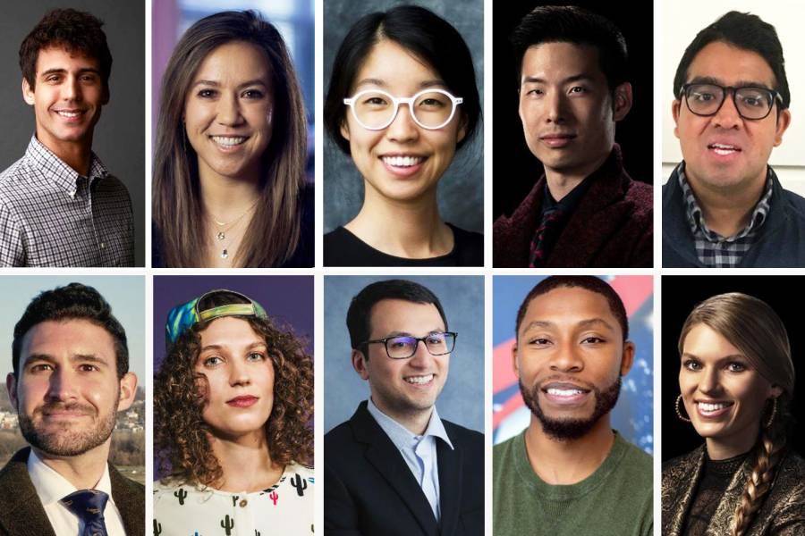 Hopkins affiliated people on Forbes' 30 Under 30 list