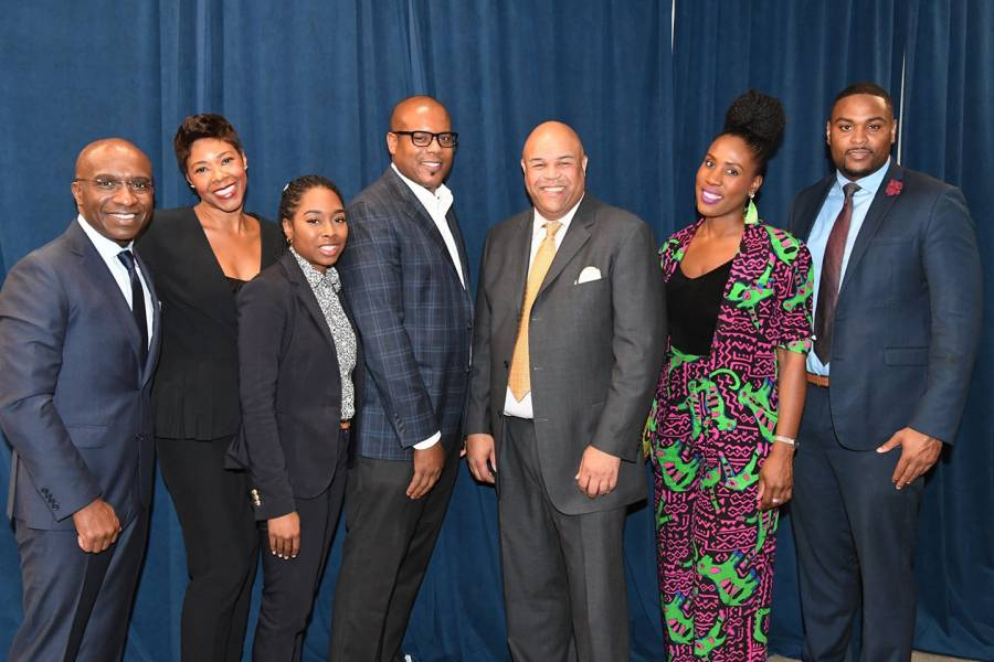 Members of Johns Hopkins Carey Business School's Black Alumni Network