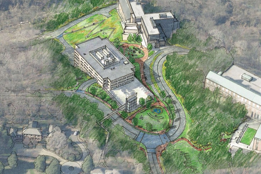 Artist rendering of San Martin Drive