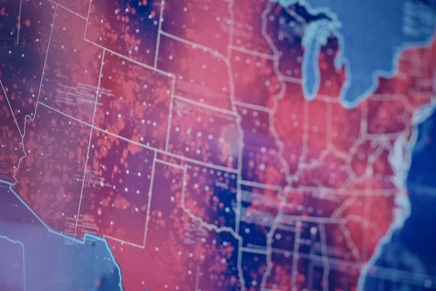 U.S. Coronavirus map