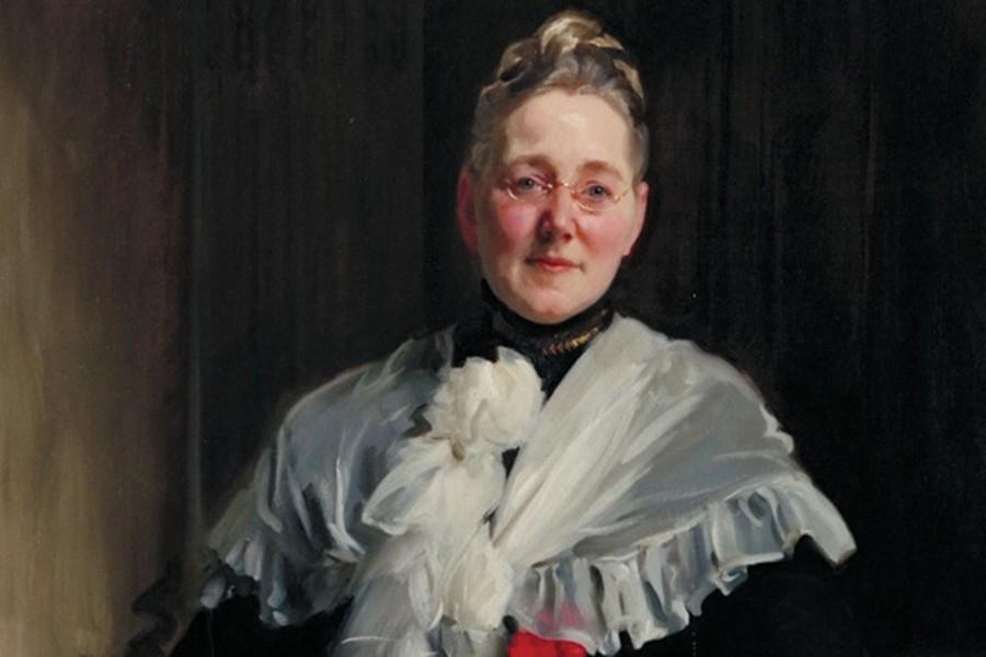 Suffragist Mary Elizabeth Garrett