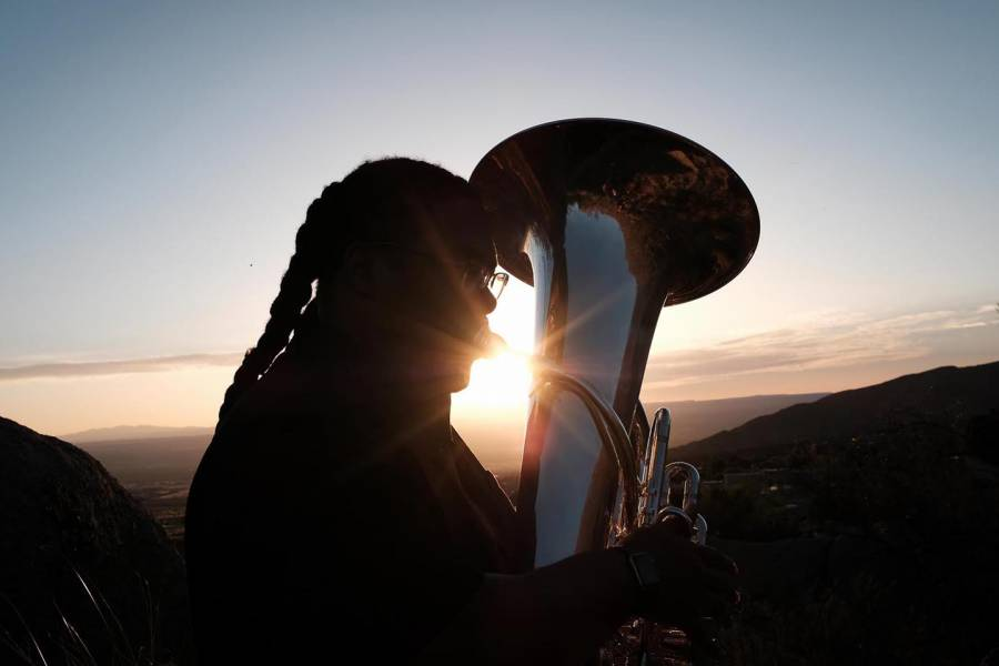 Richard Antoine White tuba player