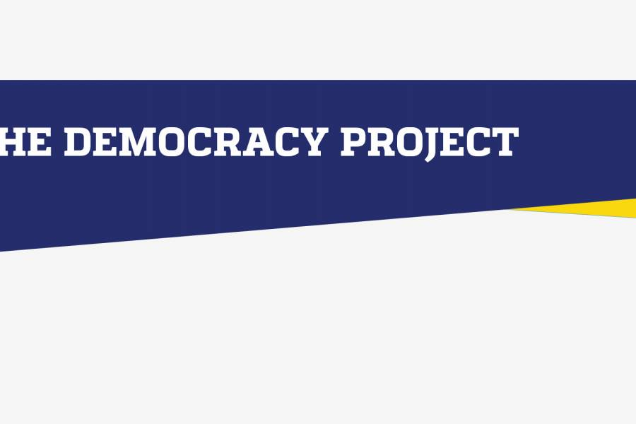 The Democracy Project header