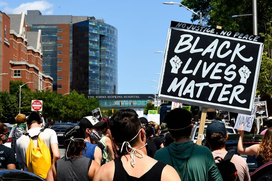 Baltimore Black Lives Matter protest