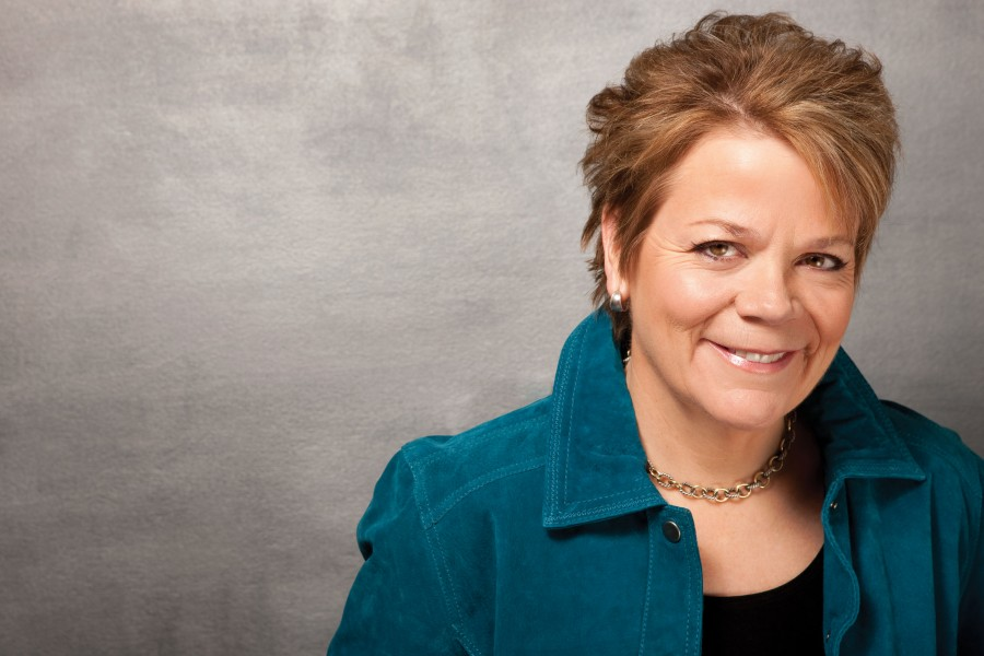 Marin Alsop, music director of the Baltimore Symphony Orchestra