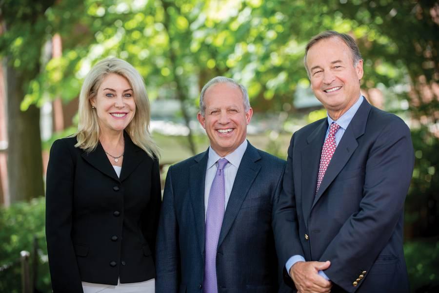 Heather Murren, Chuck Clarvit, and Mayo Shattuck