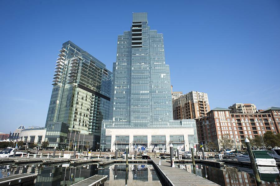 Image Caption The Johns Hopkins Carey Business School Elished In 2007 Is Located Baltimore S Harbor East Neighborhood