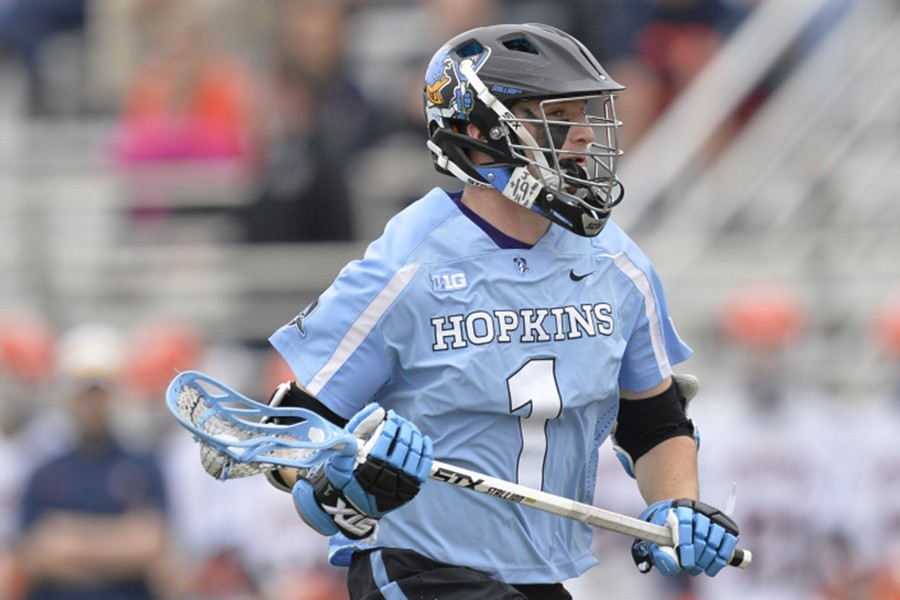 new concept 82580 9f344 Men's lacrosse: Hopkins' early season run ends with 18-7 ...